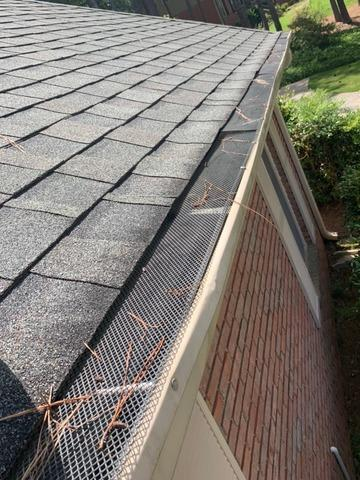 Gutters and Bulldog gutter protection in Fayetteville, GA