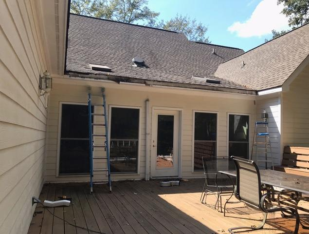 New gutters and RainDrop gutter protection installed in Sharpsburg, GA