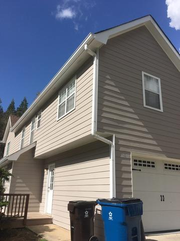 Siding replacement and new gutters in Tyrone, GA