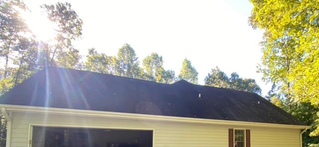 Roof replacement and partial siding replacement in Fayetteville, GA