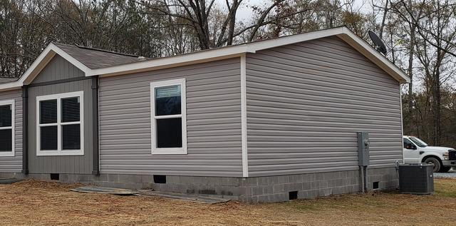 New gutters installed in Gay, GA