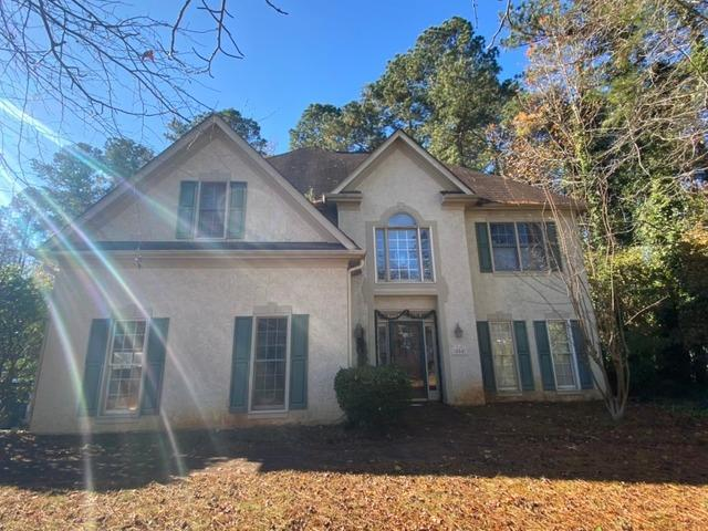 Roof replacement in Peachtree City, GA with OC Duration in Pacific Wave