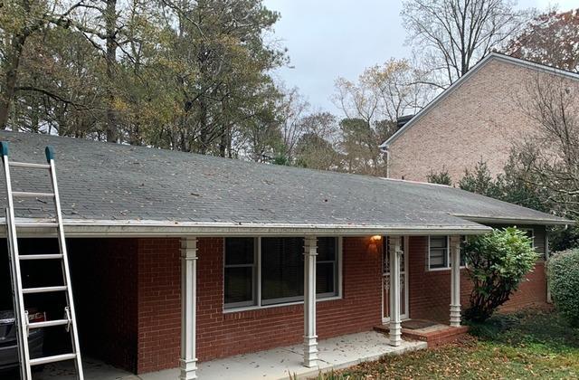 Roof replacement in Decatur, GA