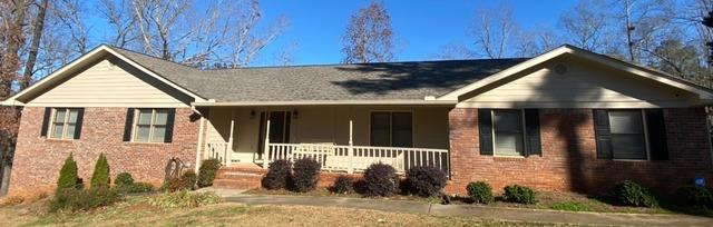 New Hardie siding, new gutters and exterior painting in Stockbridge, GA