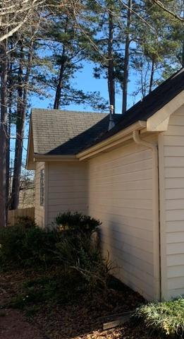 New gutters and RainDrop gutter protection in Newnan, GA