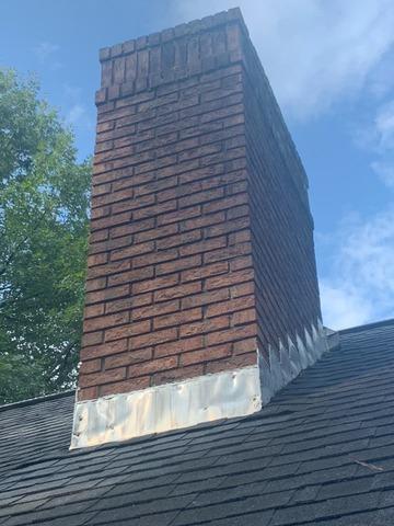 Chimney Reflash in Fayetteville, GA