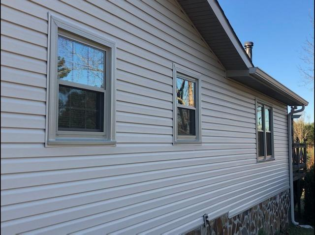 New siding, gutters, and windows in Senoia, GA