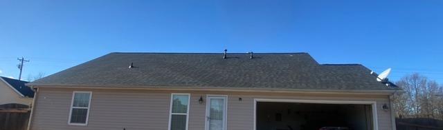 New roof installed in Hampton, GA