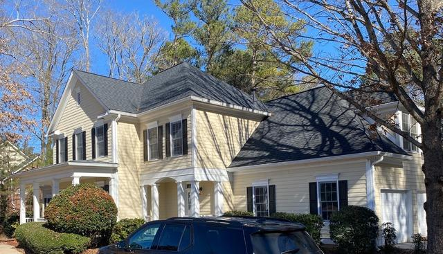 Siding replacement in Fayetteville, GA - Before Photo