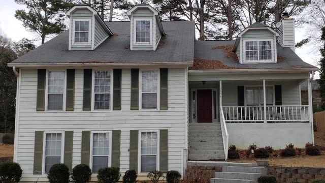 New roof, gutters, and gutter protection in Douglasville, GA