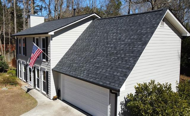 IKO Dynasty roof installed in Peachtree City, GA