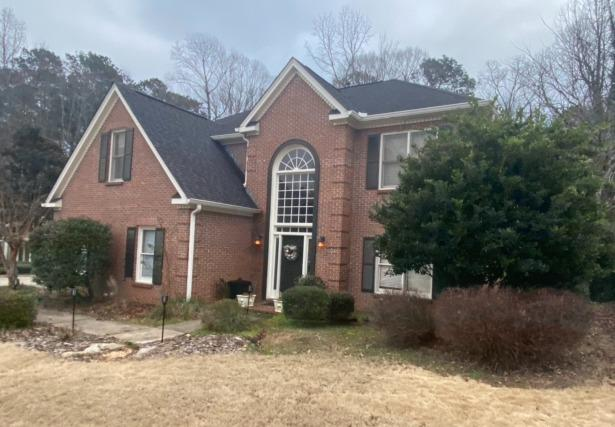 IKO Dynasty roof in Castle Gray installed in Peachtree City, GA