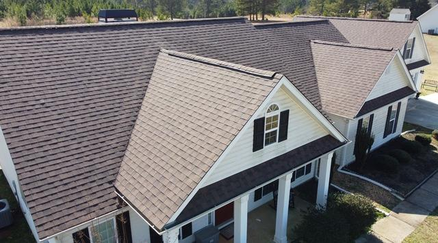 New roof installed in Concord, GA