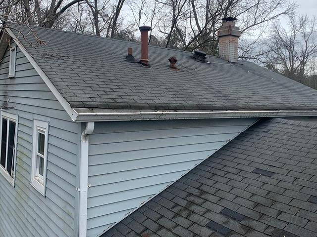 New roof and gutters in Stone Mountain, GA