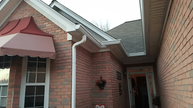 Residential Gutter Replacement in Fayetteville, GA