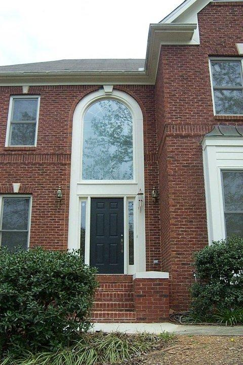 Front Porch Remodel in Woodstock, GA - Before Photo