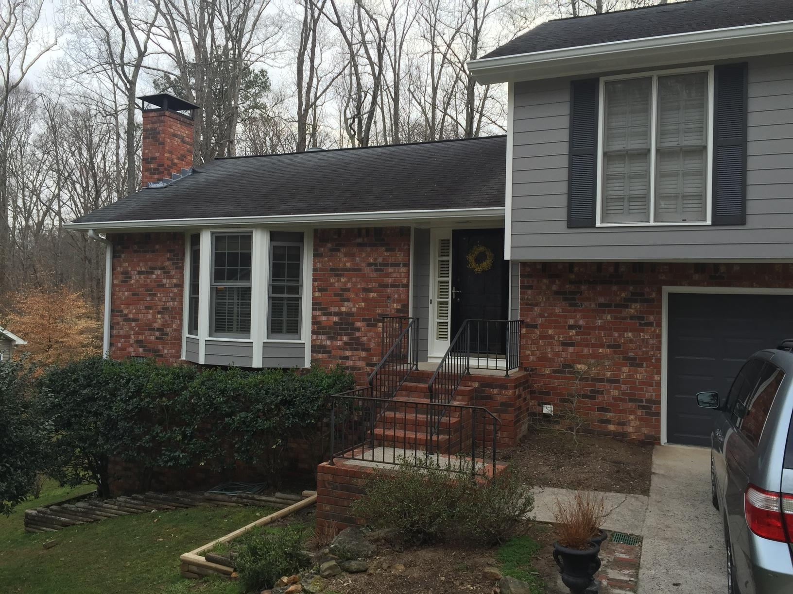Bay Window Refreshed with New Siding in Marietta, GA - After Photo