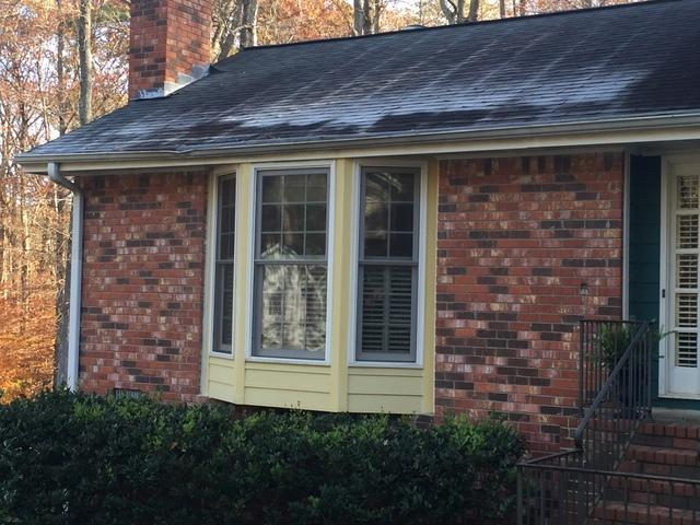 Bay Window Replacement in Marietta, GA - Before Photo