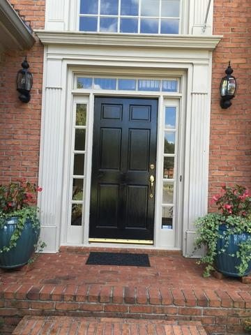 Door Replacment Project in Marietta, GA - Before Photo
