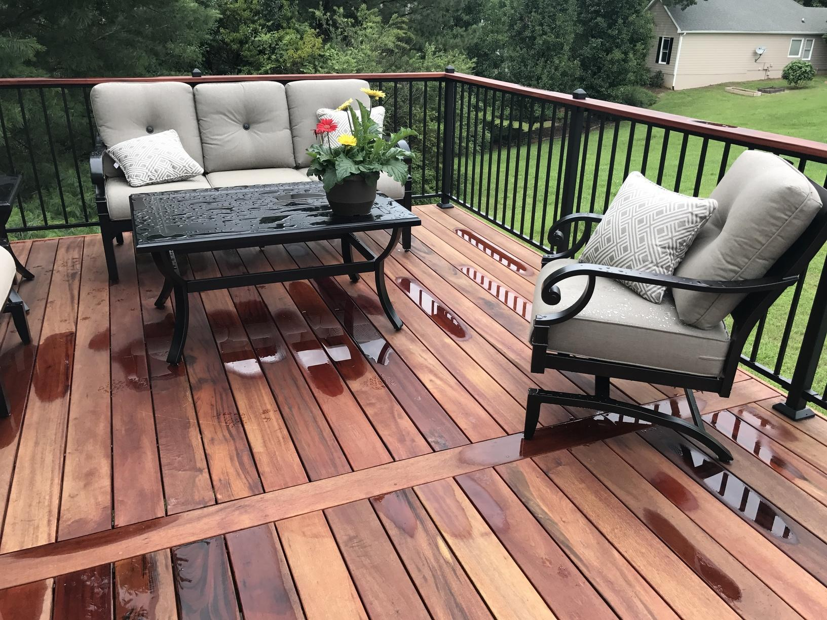 Deck Replacement in Cumming, GA - After Photo