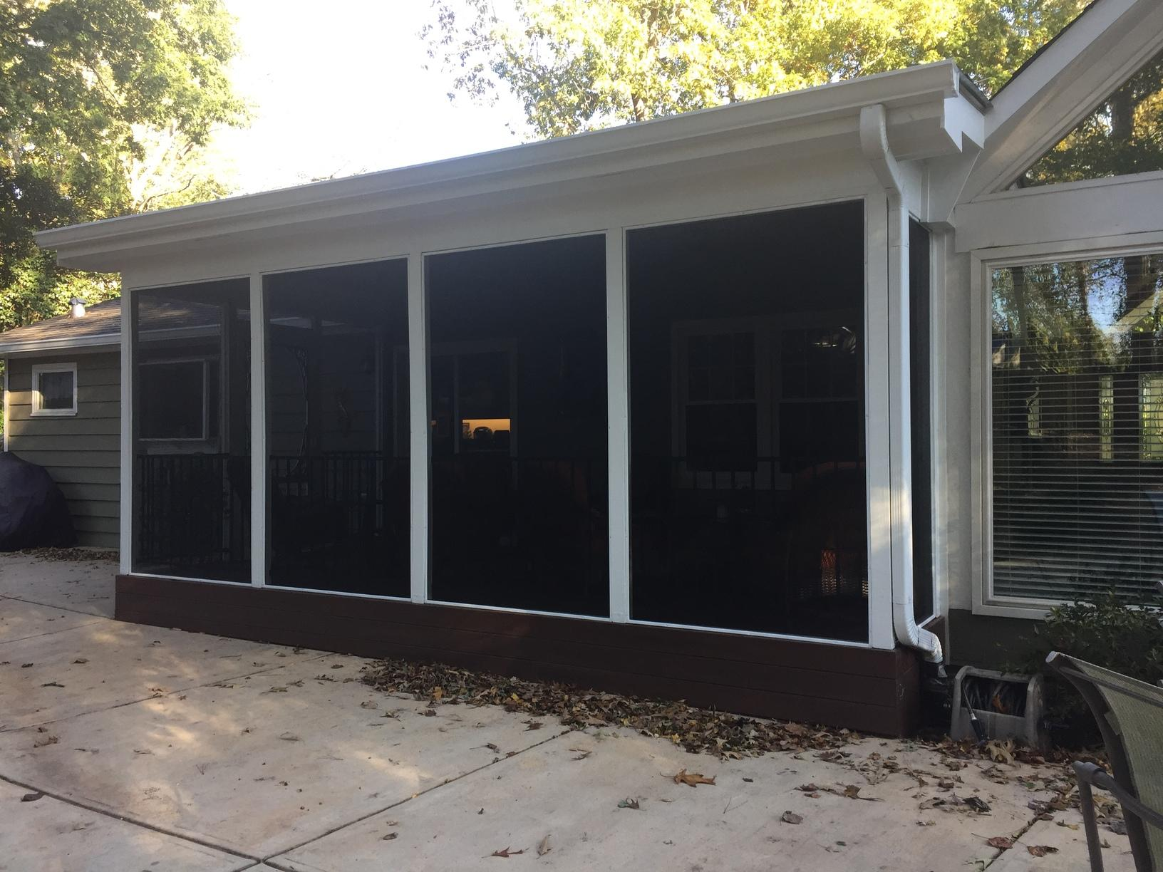 Roswell, GA Porch Construction - After Photo