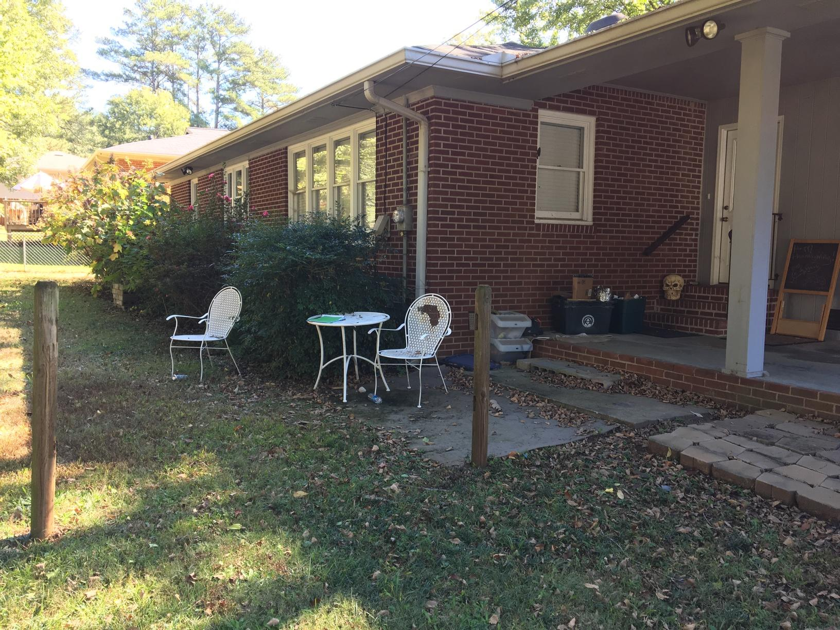 Homeowners Wanting to Update Back Yard Space in Marietta, GA - Before Photo