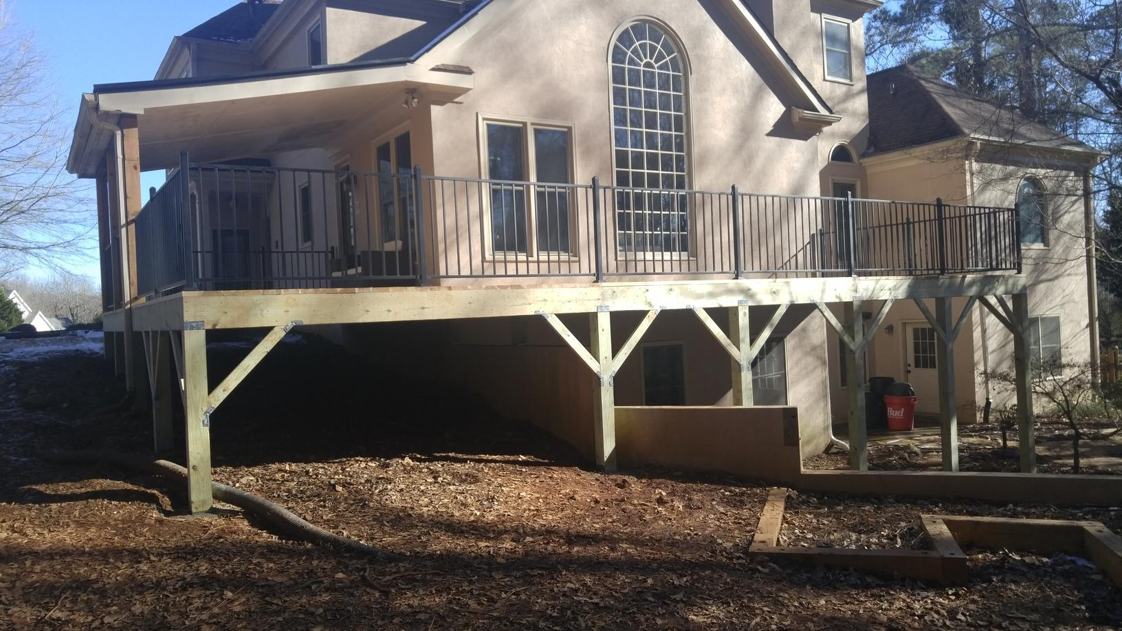 Old Unsafe Deck Upgraded in Alpharetta, GA - After Photo