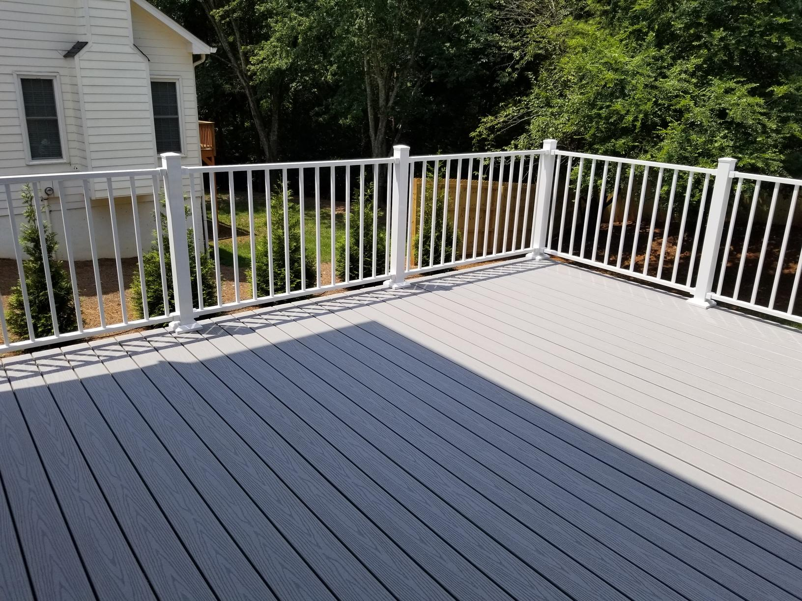 Low Maintenance Deck Install in Alpharetta, GA - After Photo