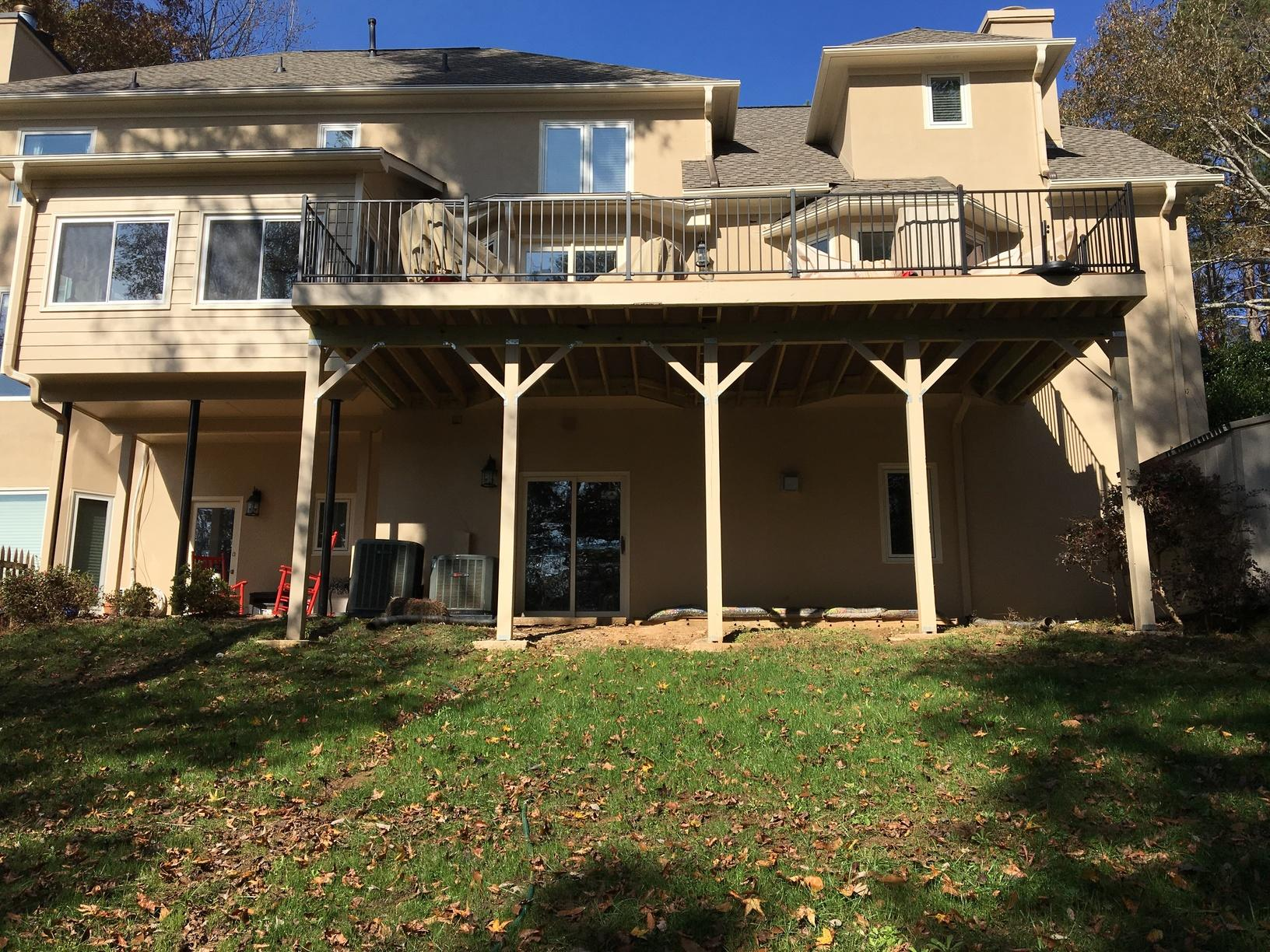 High Deck Overhaul in Woodstock, GA - After Photo
