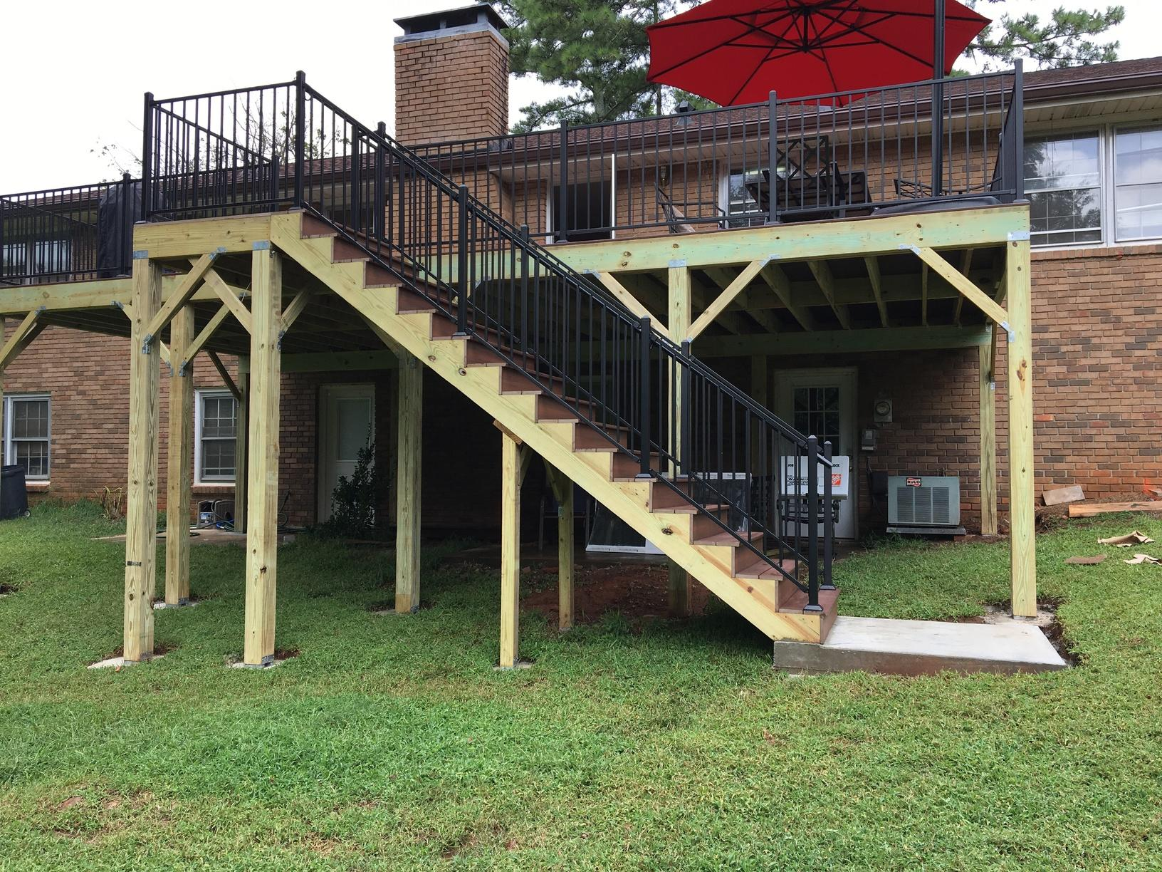 Needing More Deck Space in Roswell, GA - After Photo