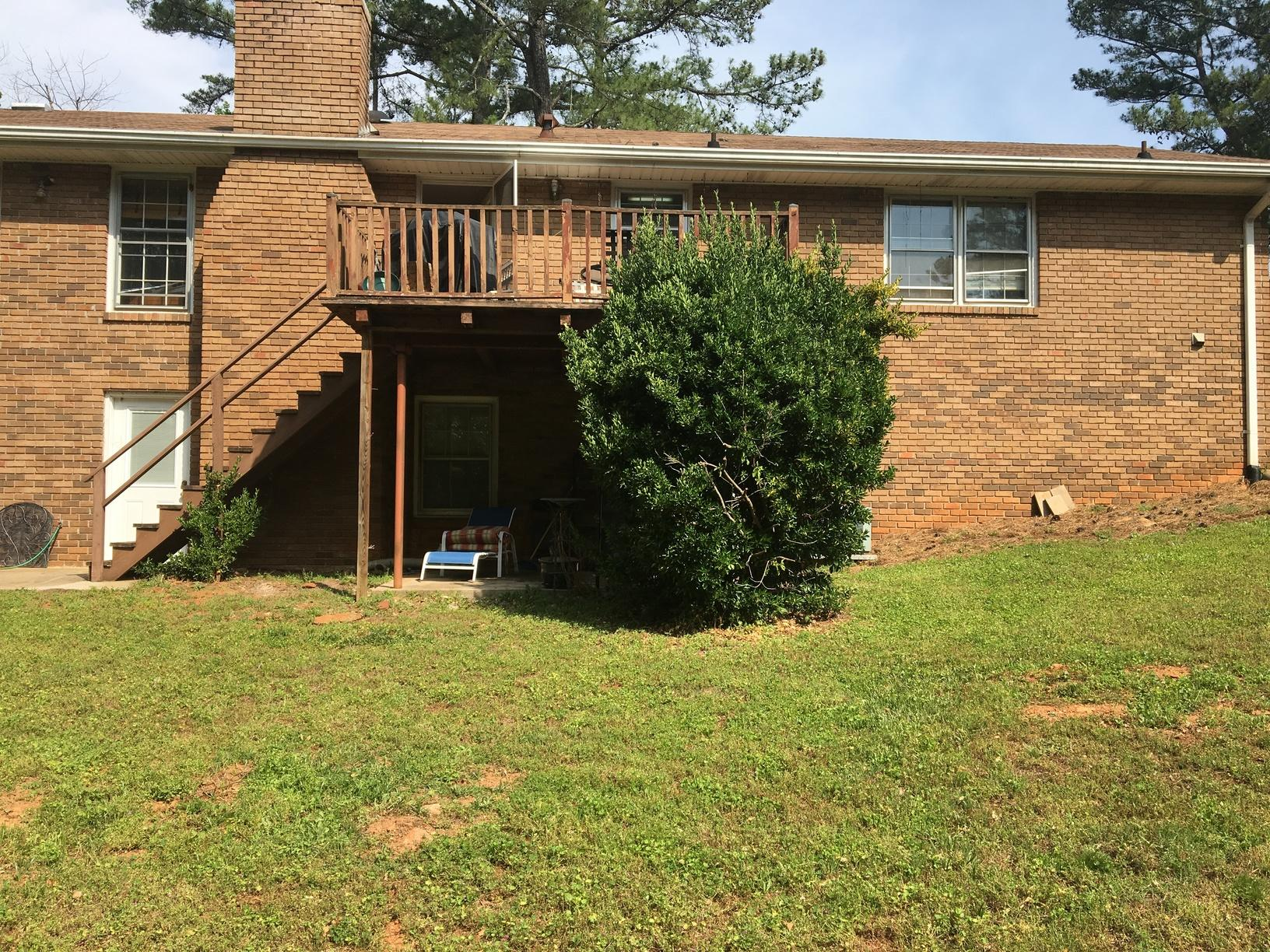 Needing More Deck Space in Roswell, GA - Before Photo