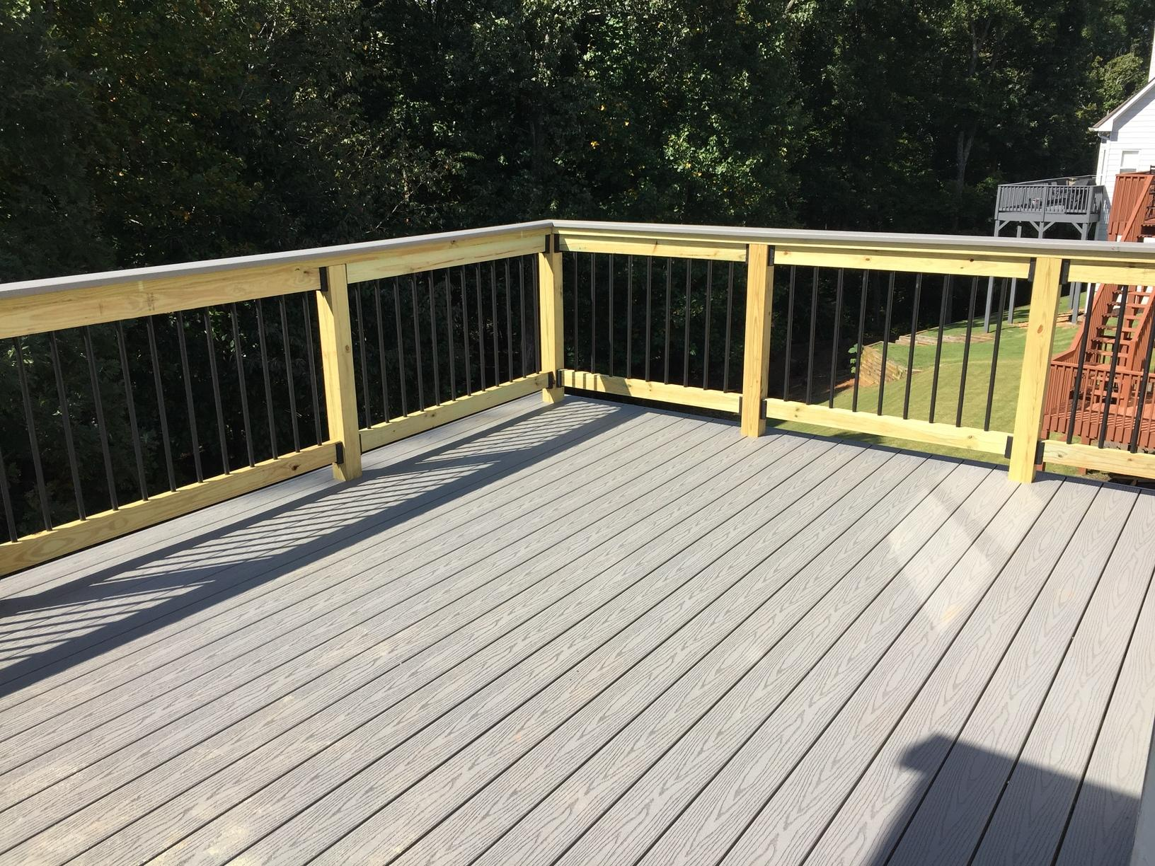 Deck Repair Versus Replace in Kennesaw, GA - After Photo