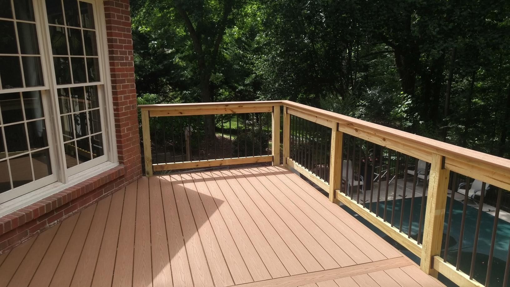 Child Safe Good Life Deck in Roswell, GA - After Photo