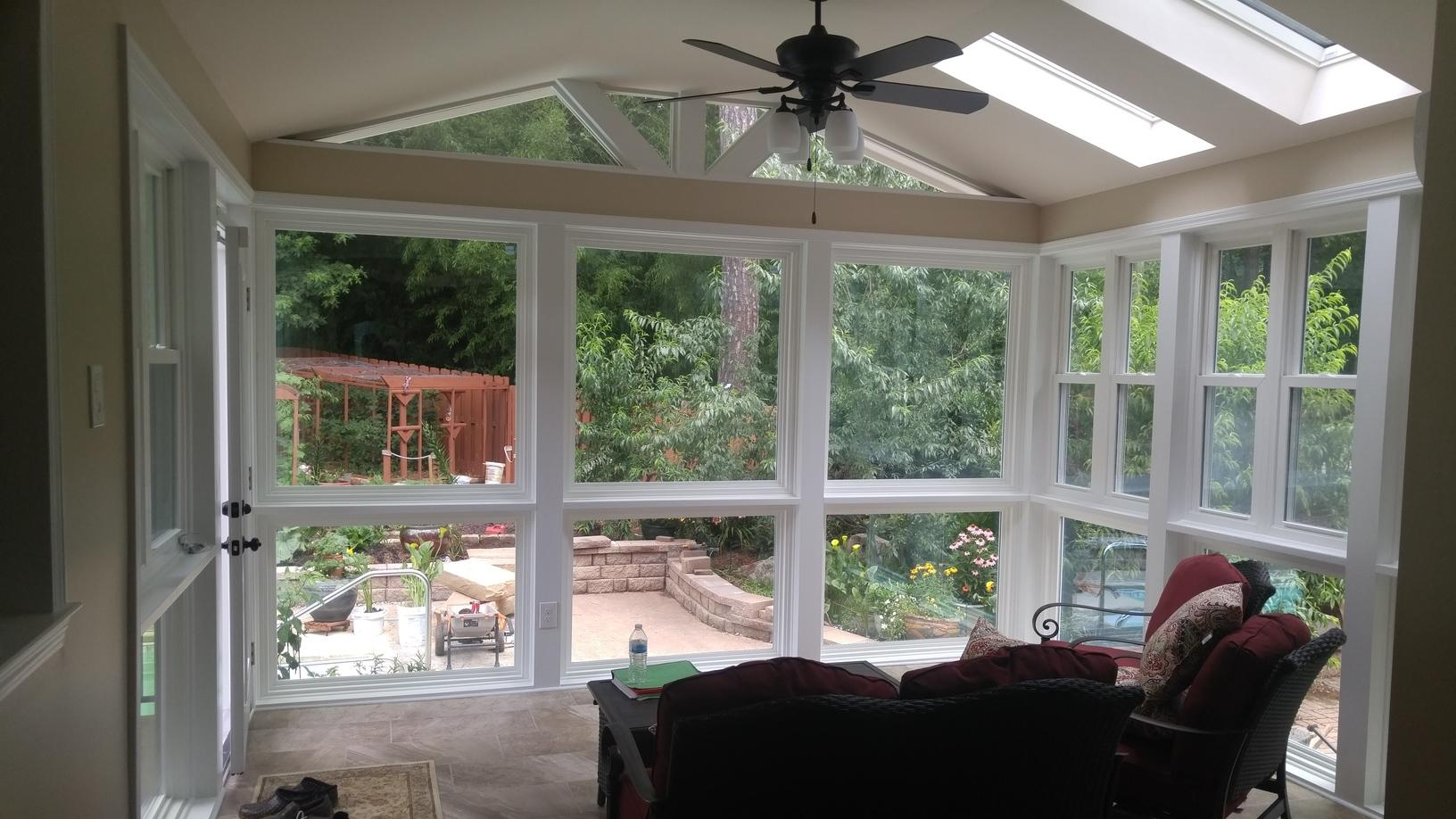 Deck to Sunroom in Alpharetta, GA - After Photo