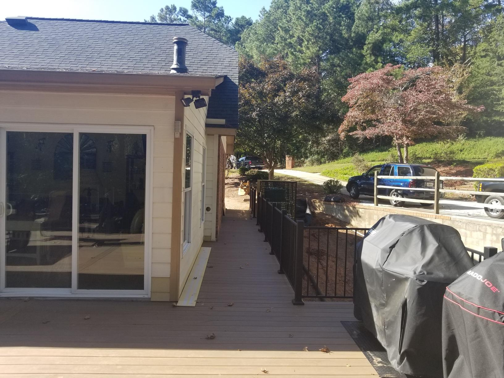 From Nothing to a Wrap Around Deck in Kennesaw, GA - After Photo