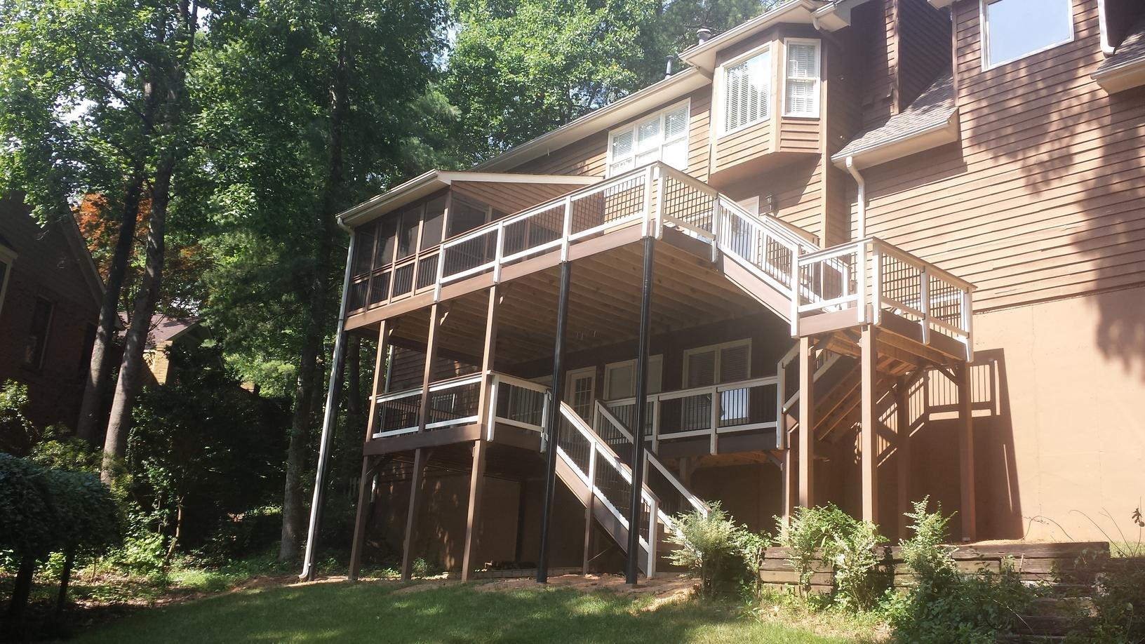 Composite Deck in Roswell, GA - After Photo