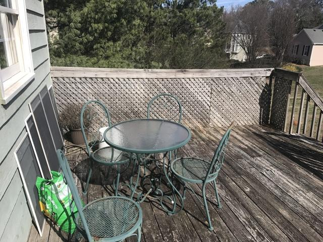 Deck Replacement in Cumming, GA - Before Photo