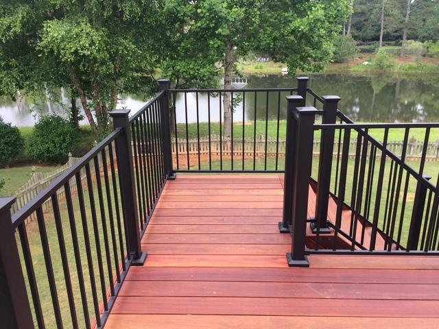 Kennesaw, GA Hardwood Deck Installation - After Photo