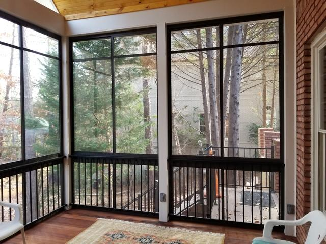 A New EZEBreeze Screened in Living Area in Marietta, GA - After Photo