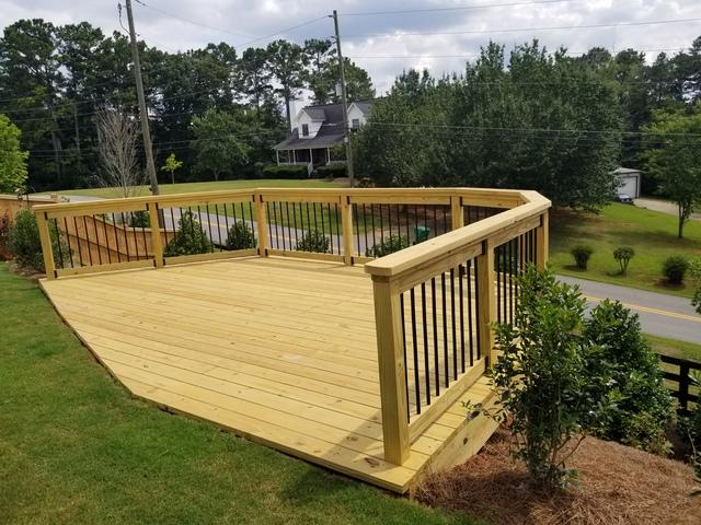 Outback Deck Inc. Before & After Photo Set - Utilizing a ...