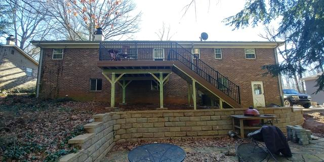 Limited Sun Challenge for a Deck in Smyrna, GA