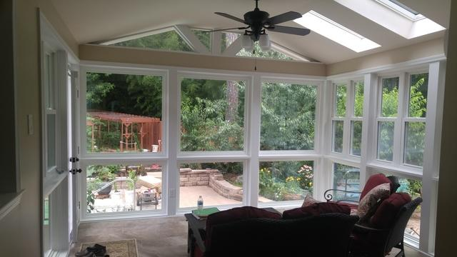 Deck to Sunroom in Alpharetta, GA