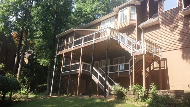 Composite Deck in Roswell, GA