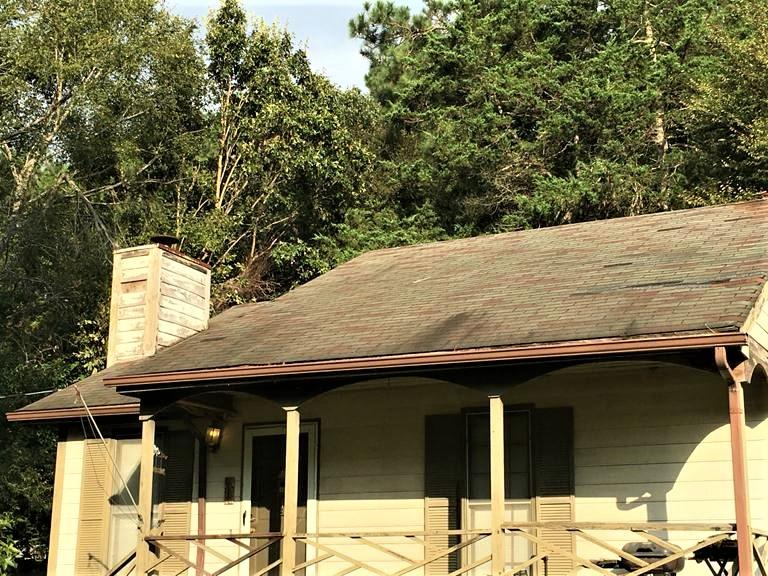 Old Roof in Knightdale - Before Photo