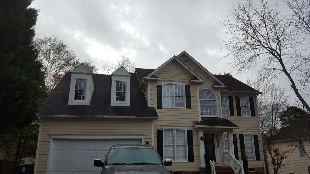 Knightdale, NC Roof Replacement - Before Photo
