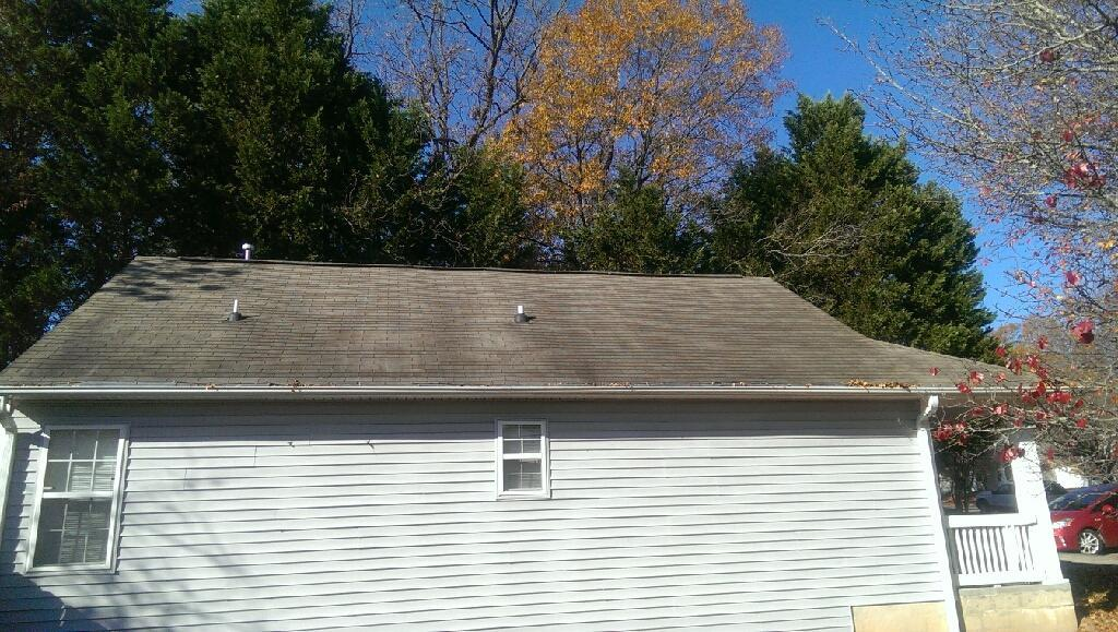 Roof Replacement, Durham Nc - Before Photo