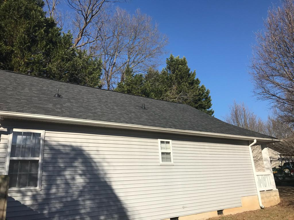Roof Replacement, Durham Nc - After Photo