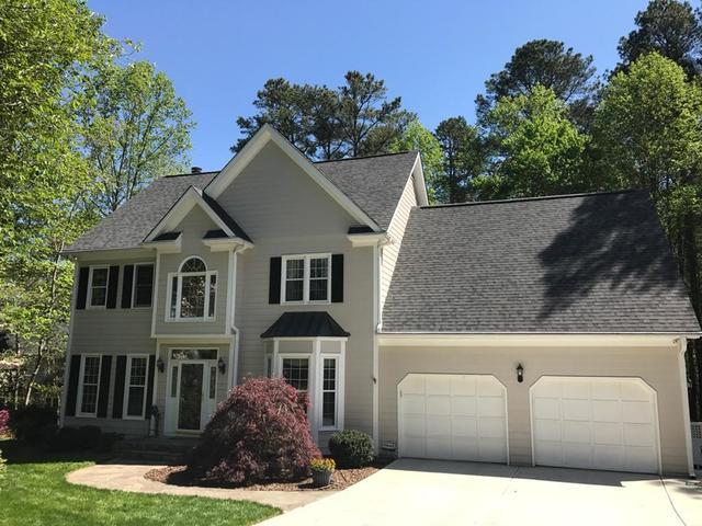 Raleigh, NC Roof Replacement (went from a 25 yr shingle to a LT Oakridge Architechural shingle