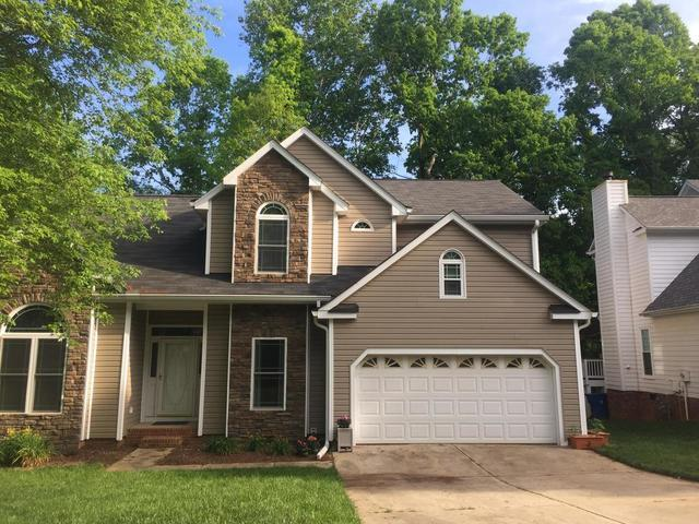 Charlotte, NC Roof Replacement with Oakridge Tru Def Williamsburg Gray
