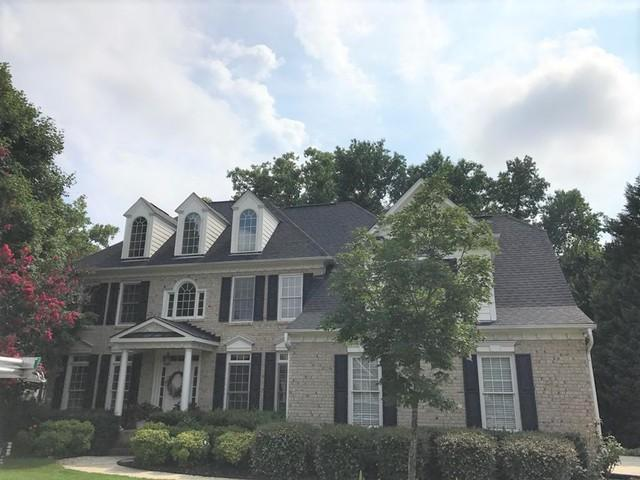 Raleigh, NC Roof Replacement with Duration Tru def Onyx Black - Before Photo